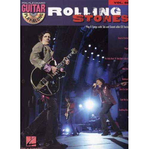 HAL LEONARD THE ROLLING STONES - HAL LEONARD GUITAR PLAY ALONG VOL.66 + CD