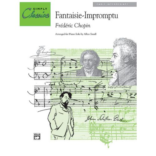 ALFRED PUBLISHING CHOPIN FREDERIC - FANTASY IMPROMPTU - PIANO SOLO