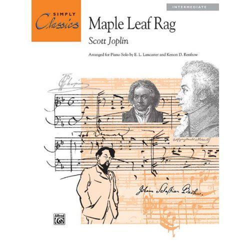 ALFRED PUBLISHING JOPLIN SCOTT - MAPLE LEAF RAG - PIANO SOLO