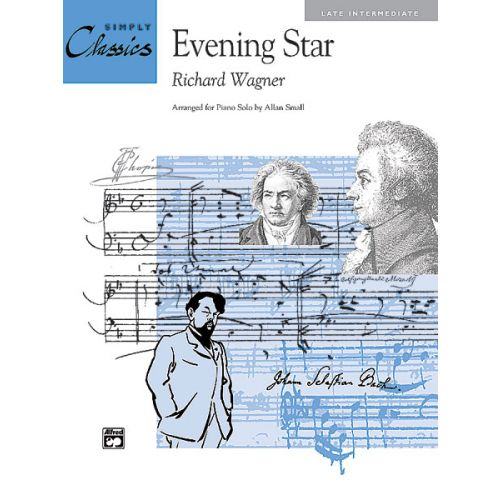 ALFRED PUBLISHING WAGNER RICHARD - EVENING STAR TANNHAUSER - PIANO SOLO