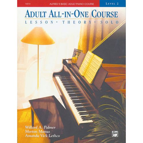 ALFRED PUBLISHING PALMER MANUS AND LETHCO - ALFRED ADULT ALL-IN-ONE COURSE 2 BOOK - PIANO