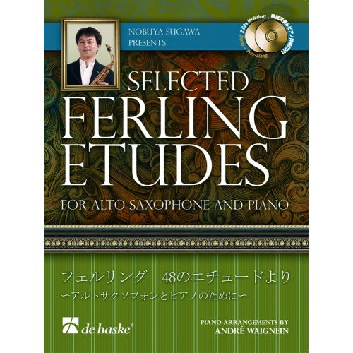 DEHASKE SELECTED FERLING ETUDES SAX ALTO + CD