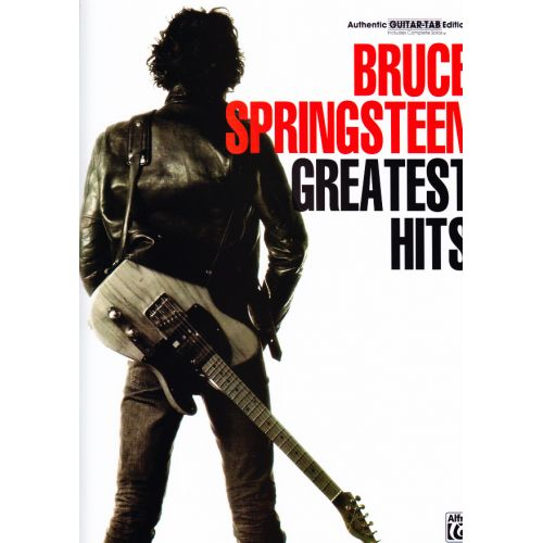 FABER MUSIC SPRINGSTEEN BRUCE - GREATEST HITS - GUITAR TAB