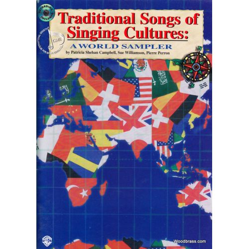 WARNER BROS TRADITIONAL SONGS OF SINGING CULTURES: A WORLD SAMPLER + CD