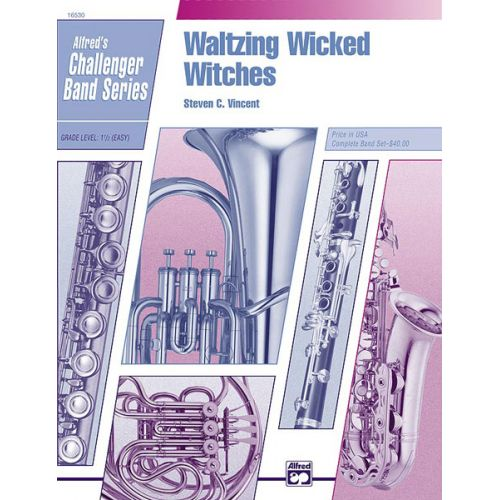 ALFRED PUBLISHING VINCENT DAVID - WALTZING WICKED WITCHES - SYMPHONIC WIND BAND