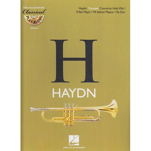 HAL LEONARD HAYDN FRANZ JOSEPH - CONCERTO EN MI BEMOL MAJEUR + CD - TROMPETTE