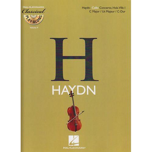 HAL LEONARD HAYDN FRANZ JOSEPH - CONCERTO EN DO MAJEUR HOB.VII B:1 + CD - VIOLONCELLE