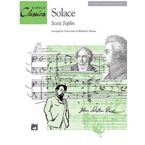 ALFRED PUBLISHING JOPLIN SCOTT - SOLACE A MEXICAN SERENADE - PIANO SOLO