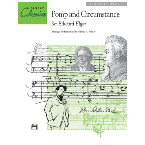 ALFRED PUBLISHING ELGAR EDWARD - POMP AND CIRCUMSTANCE NO1 - PIANO SOLO