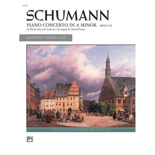 ALFRED PUBLISHING SCHUMANN ROBERT - CONCERTO-A MINOR - PIANO SOLO