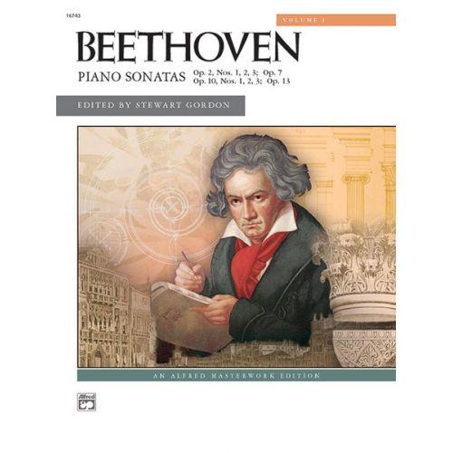 ALFRED PUBLISHING BEETHOVEN LUDWIG VAN - SONATAS VOLUME 1 - PIANO SOLO