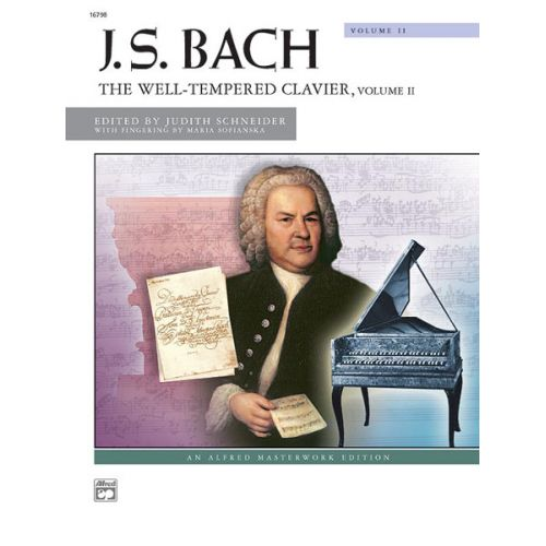 ALFRED PUBLISHING BACH J.S. - WELL TEMPERED CLAVIER 2 - PIANO SOLO