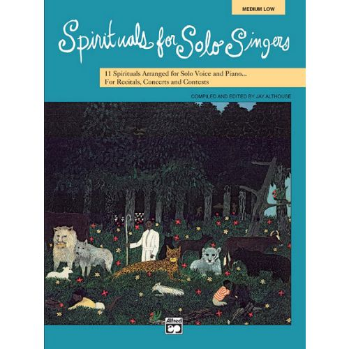 ALFRED PUBLISHING ALTHOUSE JAY - SPIRITUALS FOR SOLO SINGERS + CD - MEDIUM AND LOW VOICE