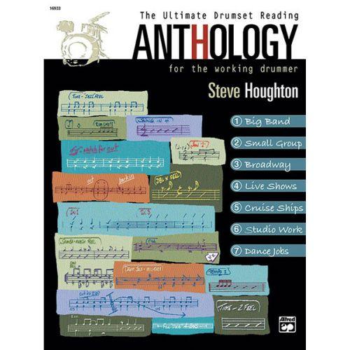 ALFRED PUBLISHING HOUGHTON STEVE - ULTIMATE DRUMSET READING ANTHOLOGY + CD - DRUM