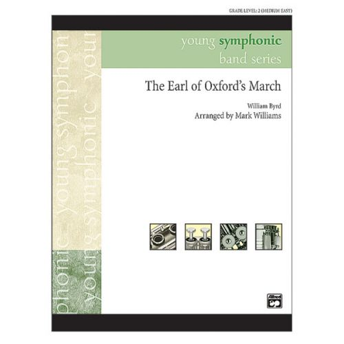 ALFRED PUBLISHING WILLIAMS JOHN - EARL OF OXFORD'S MARCH - SYMPHONIC WIND BAND
