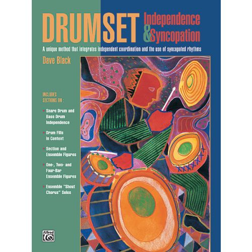 ALFRED PUBLISHING BLACK DAVE - DRUMSET INDEPENDENCE AND SYNCOPATION - DRUM