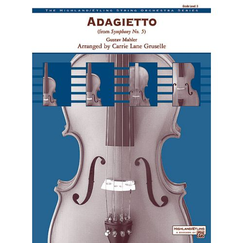 ALFRED PUBLISHING MANCINI HENRY - ADAGIETTO SYMPHONY NO5 - STRING ORCHESTRA