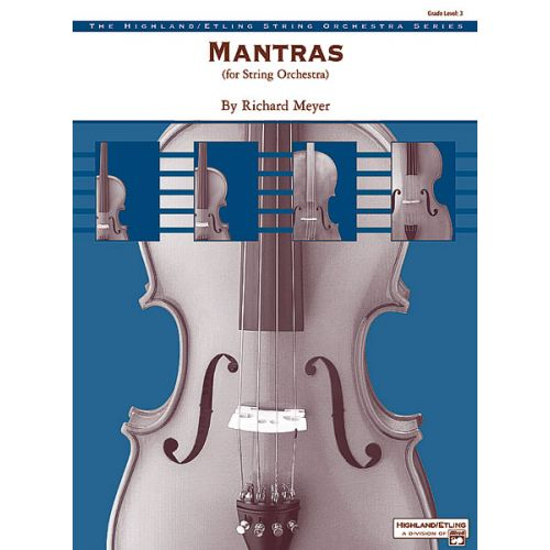 ALFRED PUBLISHING MEYER RICHARD - MANTRAS - STRING ORCHESTRA