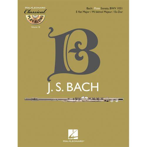 HAL LEONARD BACH J.S. - FLUTE SONATA BWV 1031 + CD - FLUTE
