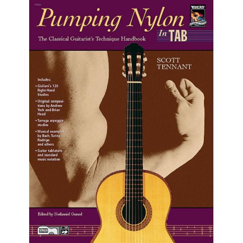 ALFRED PUBLISHING TENNANT SCOTT - PUMPING NYLON - GUITAR TAB