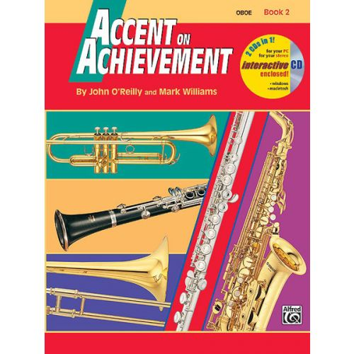 ALFRED PUBLISHING O'REILLY JOHN - ACCENT ON ACHIEVEMENT BOOK 2 - OBOE