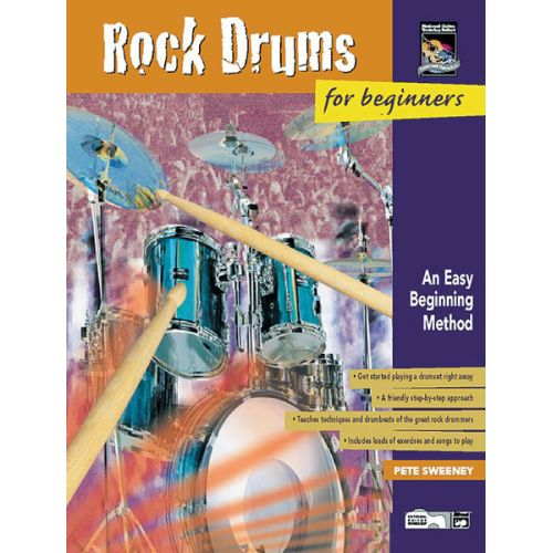 ALFRED PUBLISHING ROCK DRUMS FOR BEGINNERS - DRUM