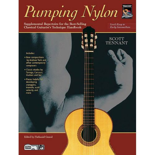 ALFRED PUBLISHING TENNANT SCOTT - PUMPING NYLON EASY TO EARLY INTERMEDIATE+ CD - GUITAR