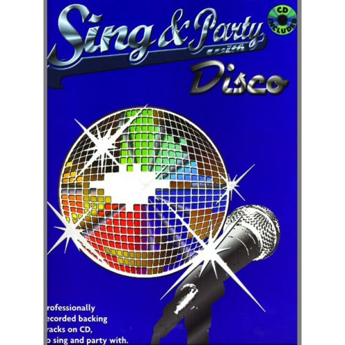 FABER MUSIC SING AND PARTY WITH DISCO + CD - PVG