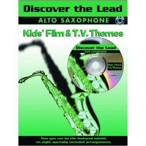 FABER MUSIC DISCOVER THE LEAD - KID'S FILM/TV + CD - SAXOPHONE AND PIANO