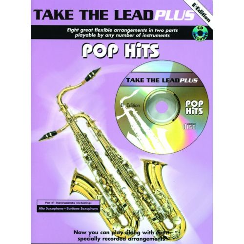 FABER MUSIC TAKE THE LEAD PLUS - POP HITS + CD - EB INSTRUMENTS