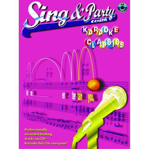FABER MUSIC SING AND PARTY - KARAOKE CLASSIC + CD - PVG