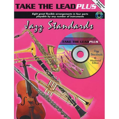 FABER MUSIC TAKE THE LEAD - JAZZ STANDARDS + CD - JAZZ BAND