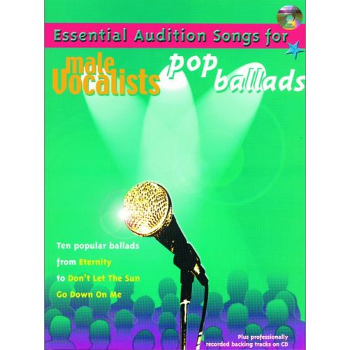 FABER MUSIC AUDITION SONGS - POP BALLADS + CD M - PVG