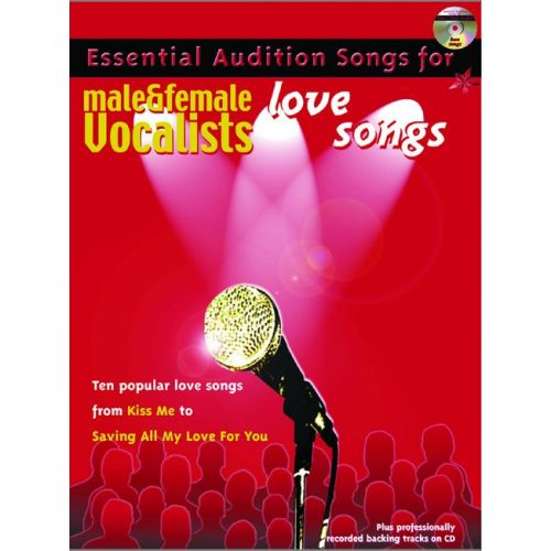 FABER MUSIC AUDITION SONGS - LOVE SONGS + CD - PVG