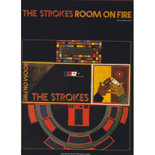 FABER MUSIC THE STROKES - ROOM ON FIRE - GUIT TAB