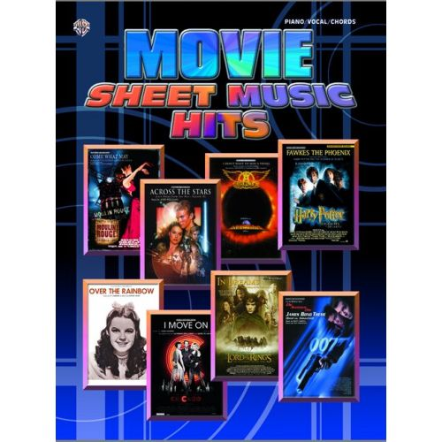 FABER MUSIC MOVIE SHEET MUSIC HITS - PVG