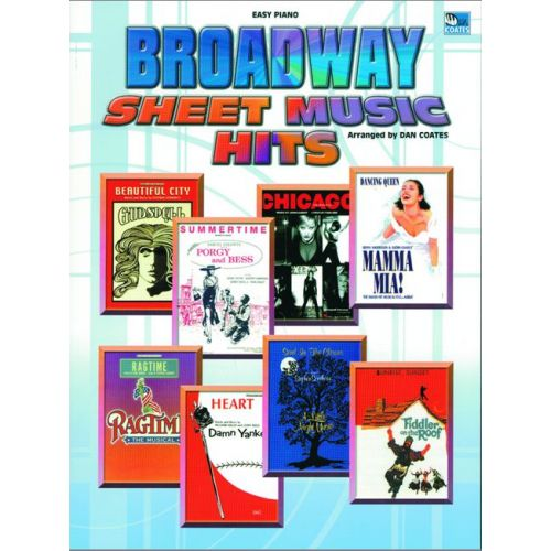 FABER MUSIC BROADWAY SHEET MUSIC HITS - EASY PIANO