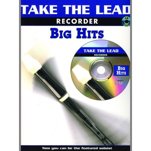 FABER MUSIC TAKE THE LEAD - BIG HITS + CD - RECORDER AND PIANO