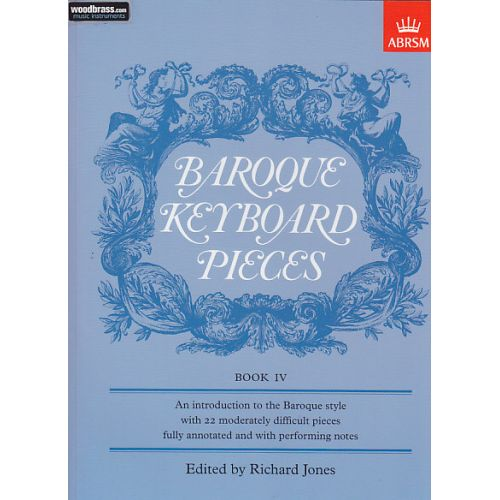 ABRSM PUBLISHING JONES - BAROQUE KEYBOARD PIECES VOL.IV