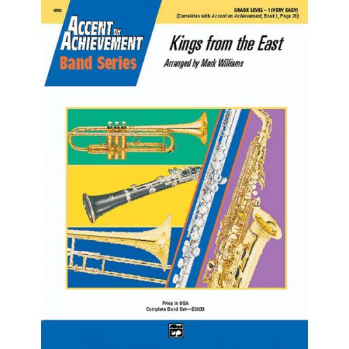 ALFRED PUBLISHING WILLIAMS JOHN - KINGS FROM THE EAST - SYMPHONIC WIND BAND