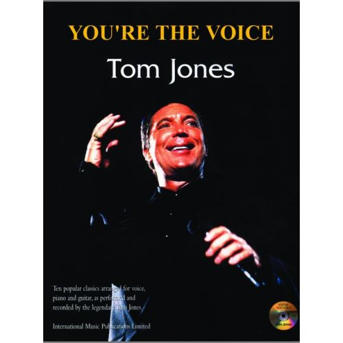FABER MUSIC JONES TOM - YOU'RE THE VOICE + CD - PVG