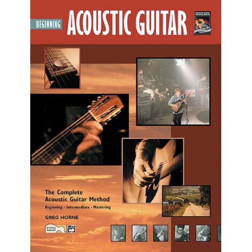 ALFRED PUBLISHING HORNE GREG - BEGINNING ACOUSTIC GUITAR + CD - GUITAR