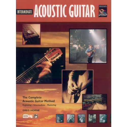 ALFRED PUBLISHING HORNE GREG - INTERMEDIATE ACOUSTIC GUITAR + CD - GUITAR