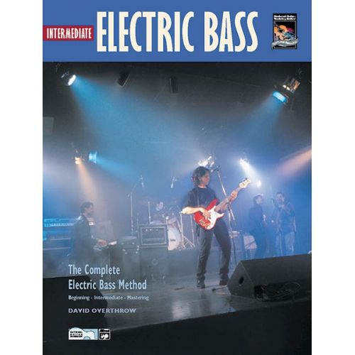 ALFRED PUBLISHING OVERTHROW DAVID - INTERMEDIATE ELECTRIC BASS + CD - BASS GUITAR