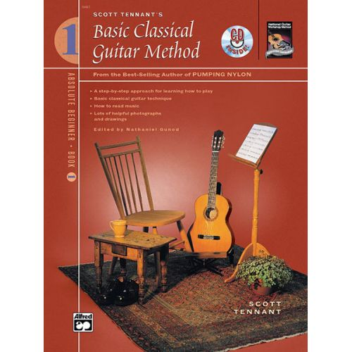 ALFRED PUBLISHING TENNANT SCOTT - BASIC CLASSICAL GUITAR METHOD + CD 1 - GUITAR
