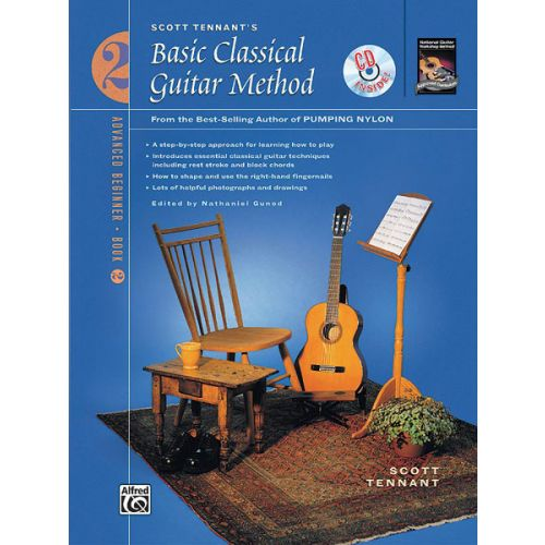 ALFRED PUBLISHING TENNANT SCOTT - BASIC CLASSICAL GUITAR METHOD + CD - GUITAR