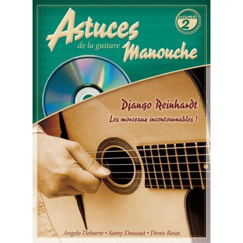 COUP DE POUCE ROUX & DAUSSAT - ASTUCES DE LA GUITARE MANOUCHE VOL.2 + CD