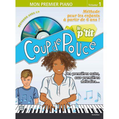 COUP DE POUCE LE P'TIT COUP DE POUCE + CD - PIANO