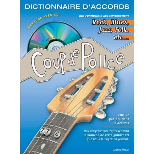 COUP DE POUCE ROUX DENIS - DICTIONNAIRE D'ACCORDS + CD - GUITARE