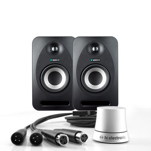 TANNOY REVEAL 402 LAUTSPRECHERPAAR + LEVEL PILOT
